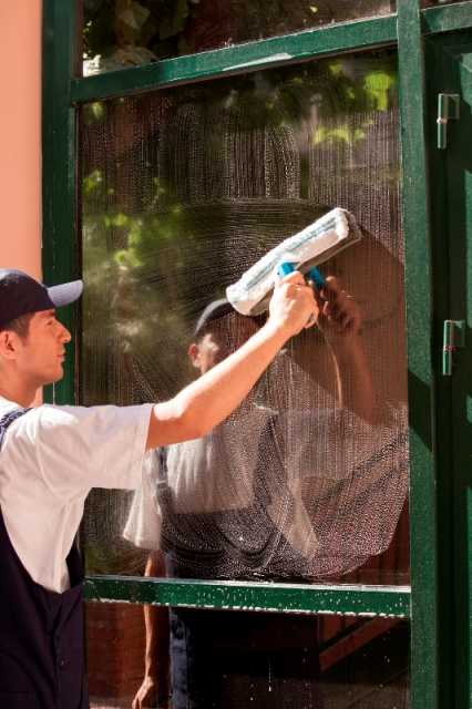 Window washing inside and out business and home