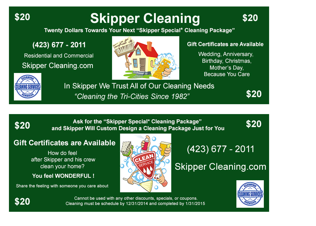 Skipper Cleaning the Tricities Residential and Commercial Services